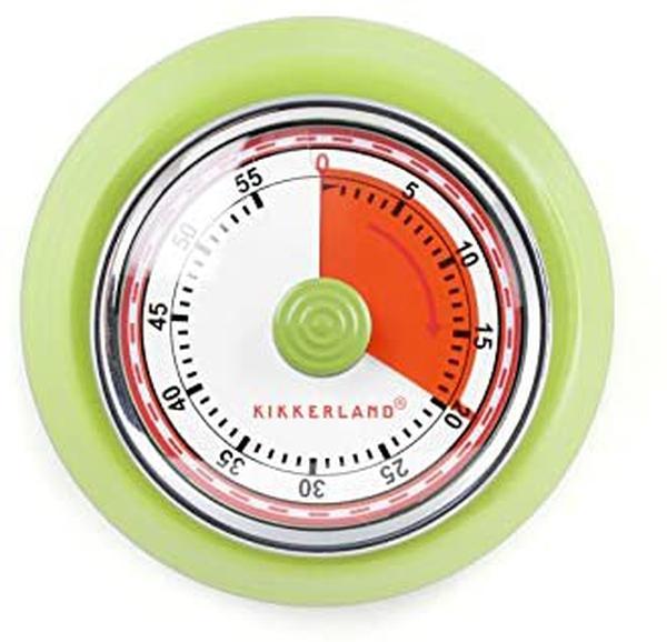 Bilde av Retro Kjøkkentimer/ Stoppeklokke Med Magnet'