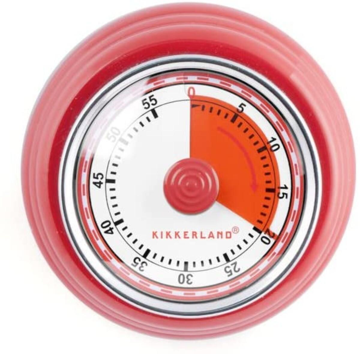 Retro Kjøkkentimer/ Stoppeklokke Med Magnet'