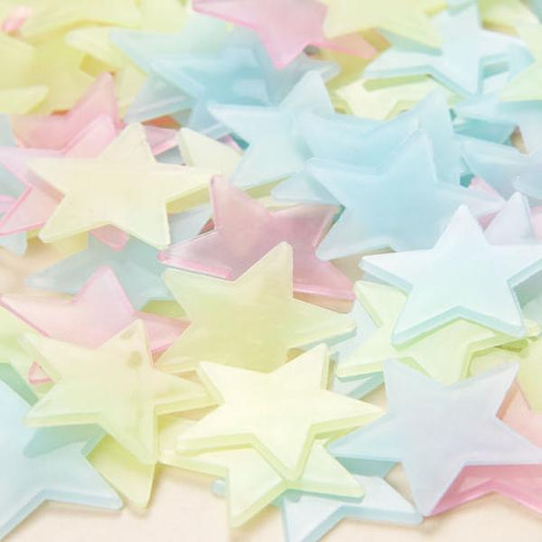 Bilde av Selvlysende stjerner 100pk