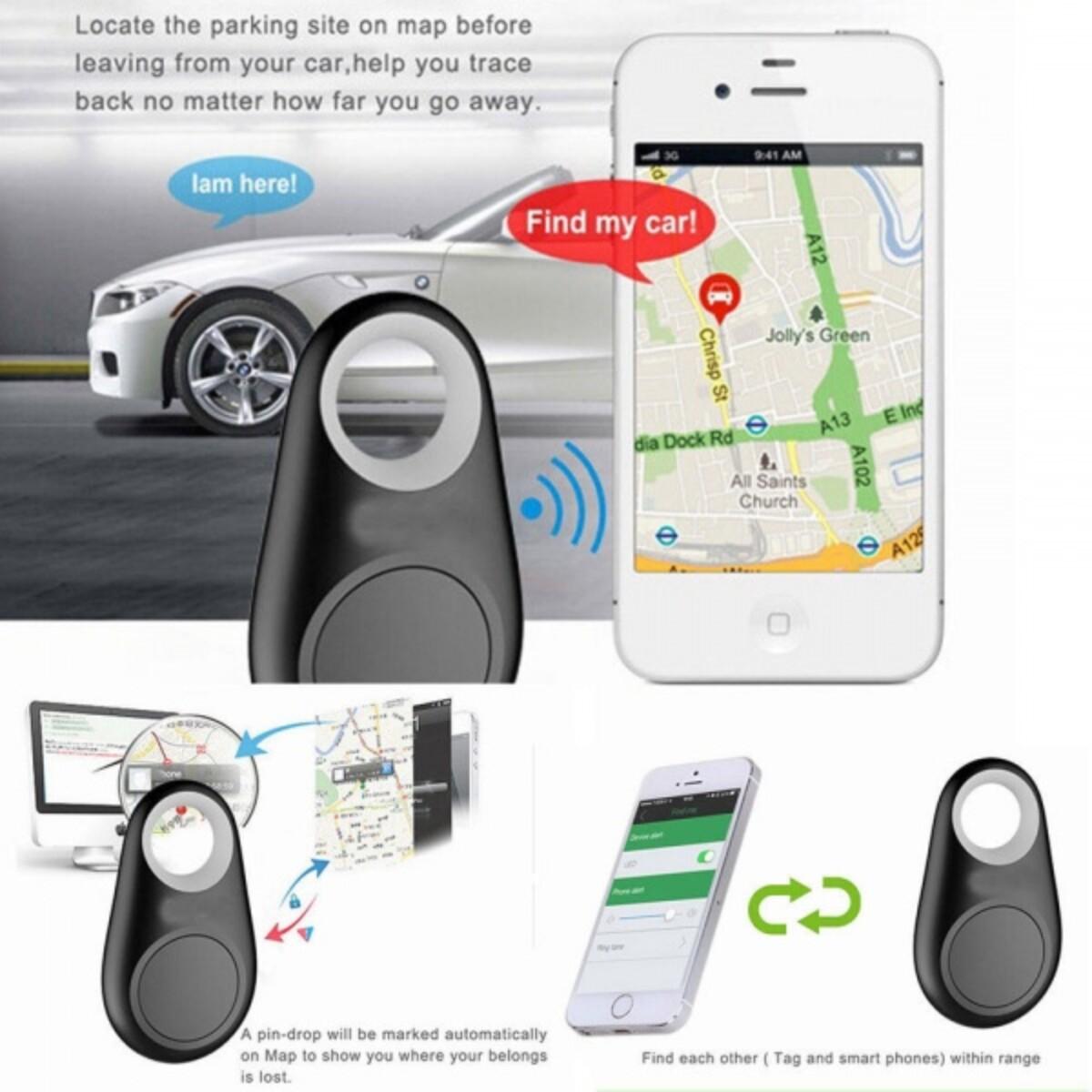 Smart Nøkkelfinner -iTag, GPS, Bluetooth, Tracker