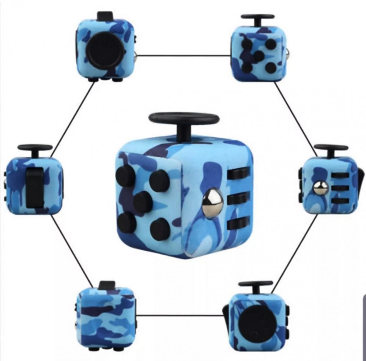 Fidget Cube -Stort Utvalg!