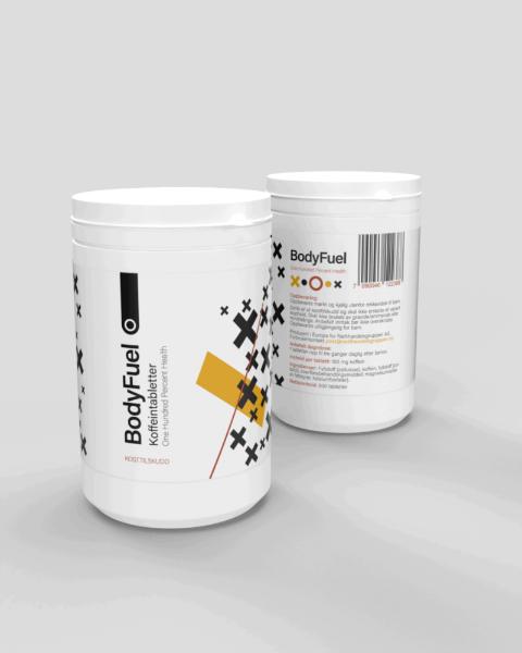 Bilde av Koffeintabletter 500pk 100mg
