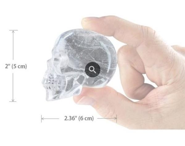 Bilde av Silikonform- Isbiter- Skulls