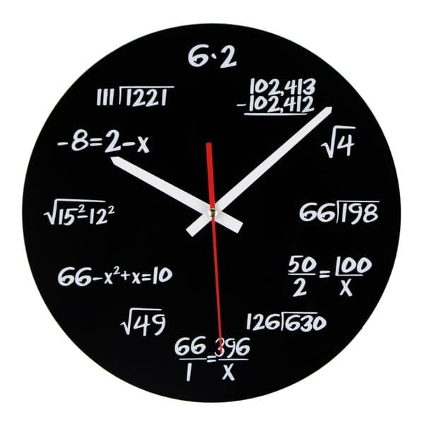 Bilde av Matematikk Klokke