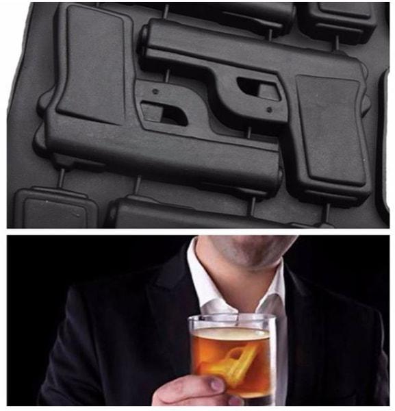 Bilde av Silikonform- Pistoler