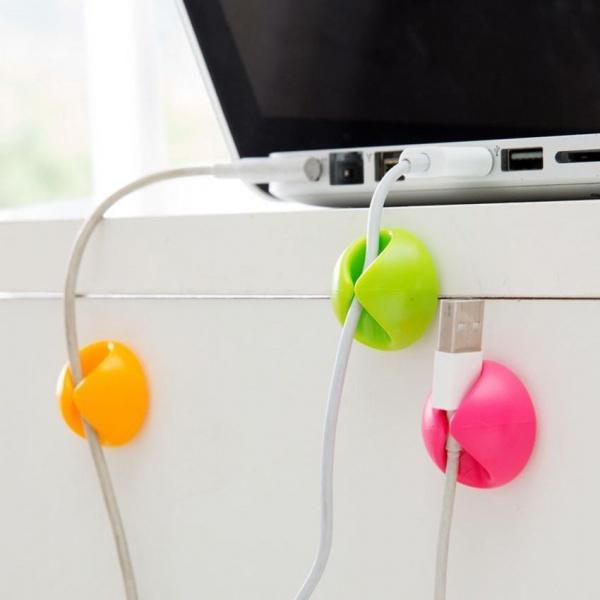 Bilde av 6pk Smarte Kabelklemmer