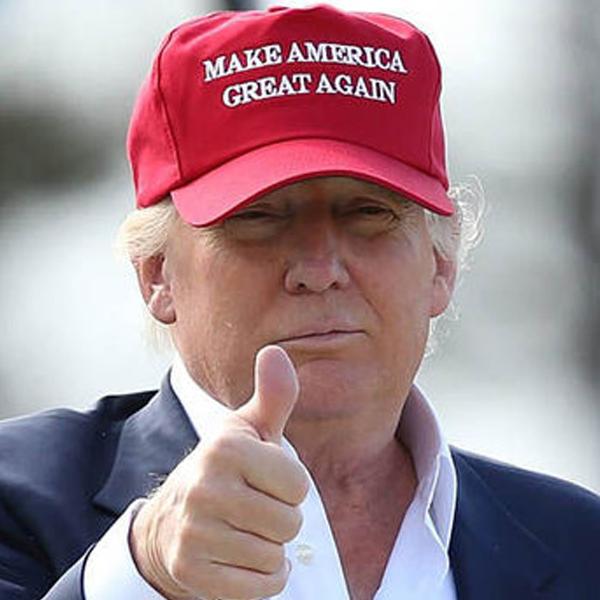 Bilde av Trump-