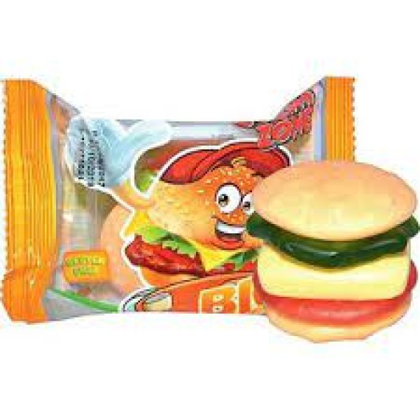 Bilde av Gummi Zone Big Burger 32g