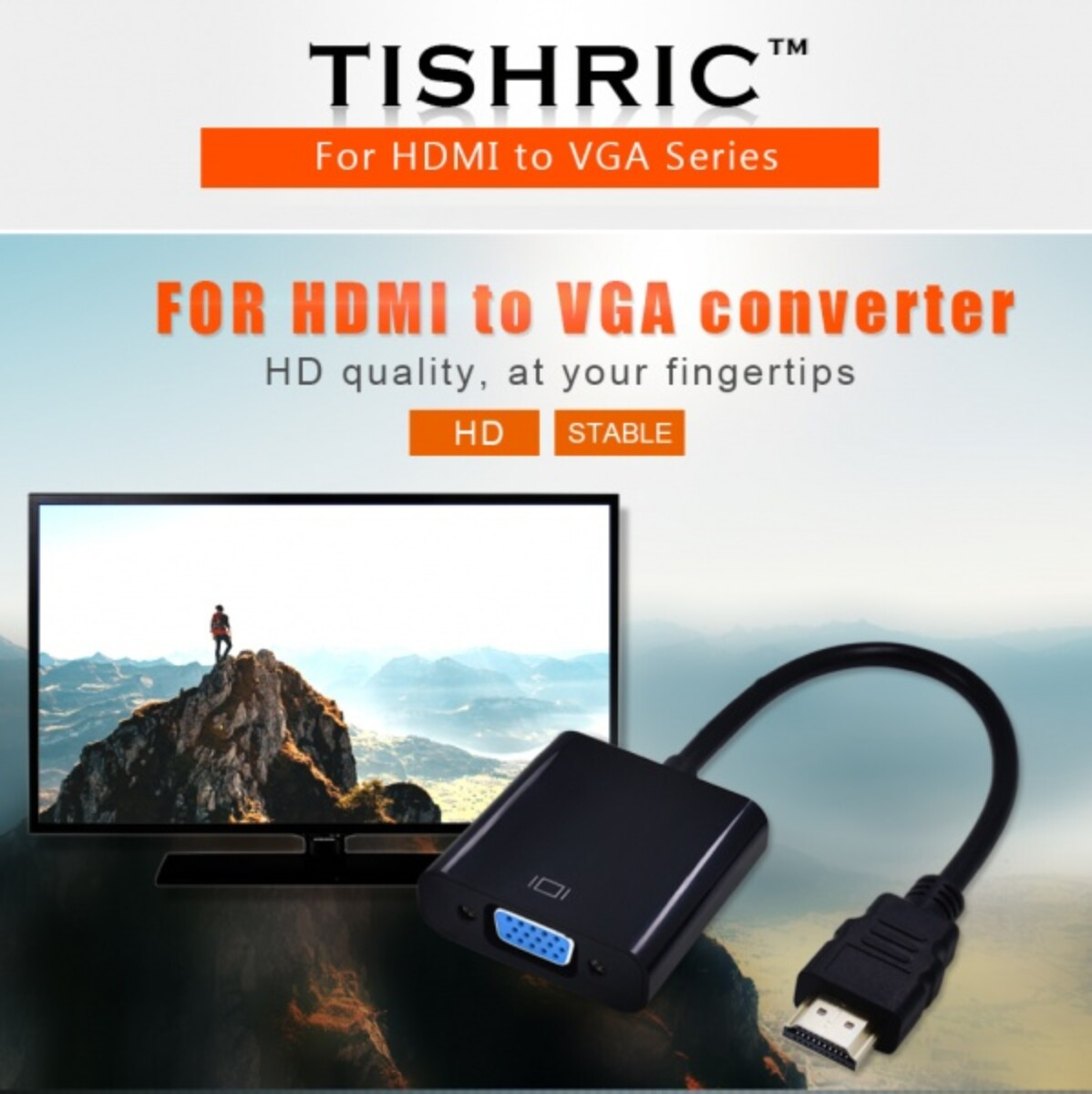 VGA Til HDMI Adapter