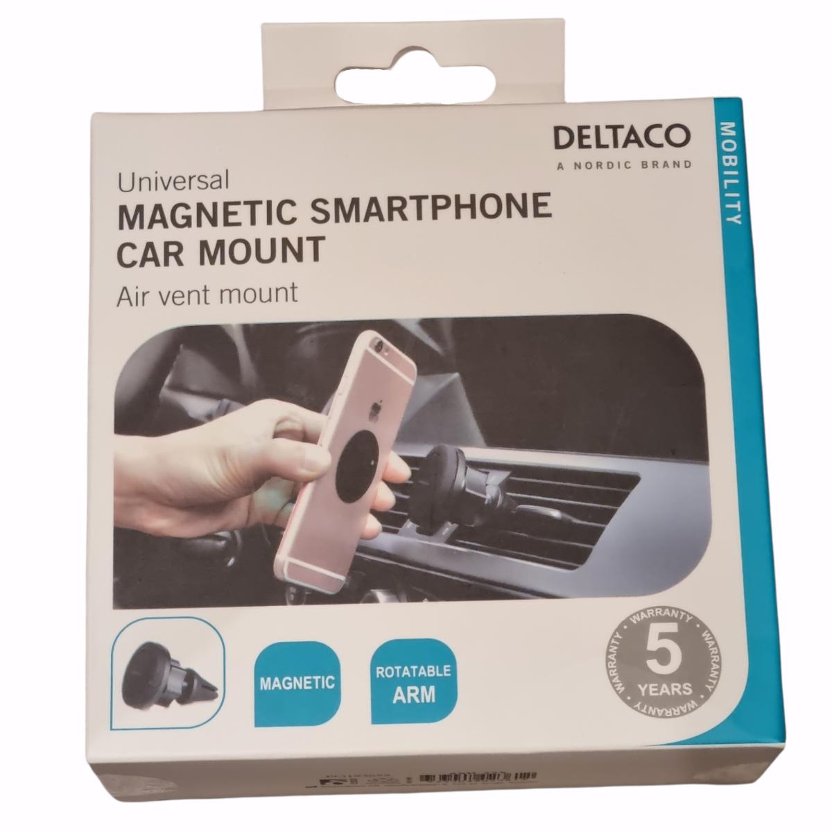 Deltaco Mobilholder Magnet For Bil