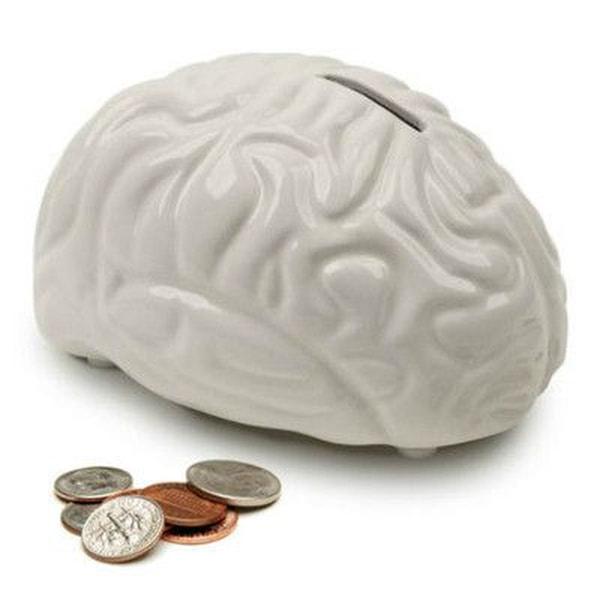Bilde av Brain Bank- Stilig Sparebøsse'