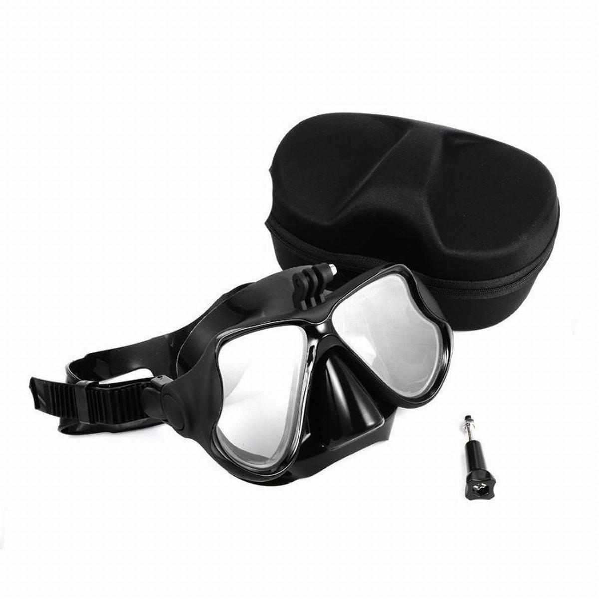 Dykkemaske For GoPro Med Etui