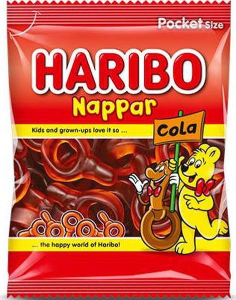 Bilde av Haribo Colasmokker 80g
