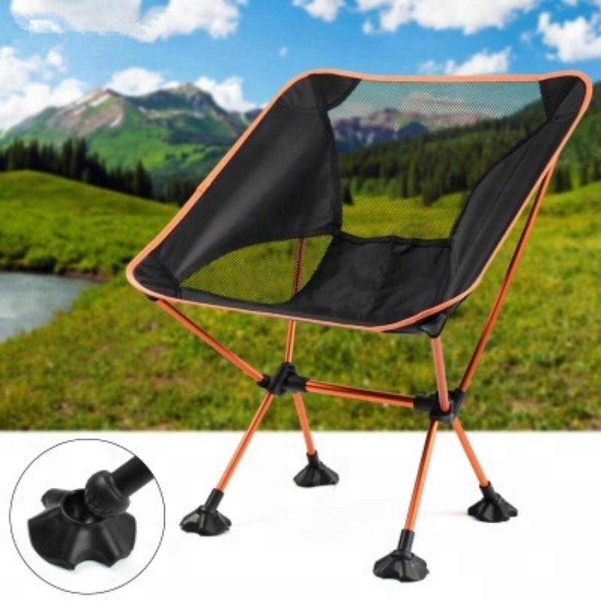 Sammenleggbar Camping/turstol- Flere Farger