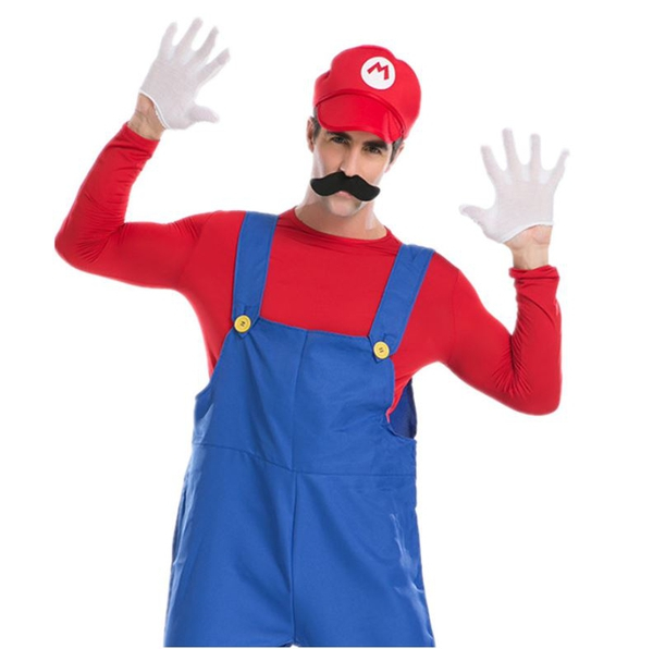 Bilde av Mario & Luigi Kostyme- Herre