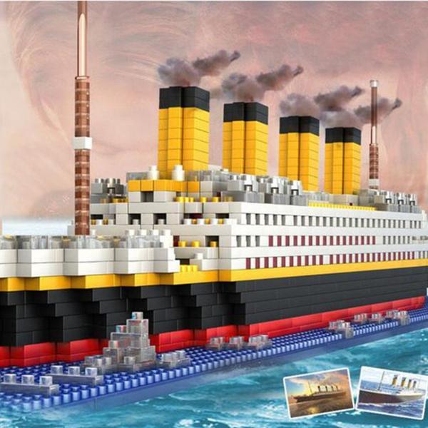 Bilde av Titanic Nanoblock Byggesett- 1860deler