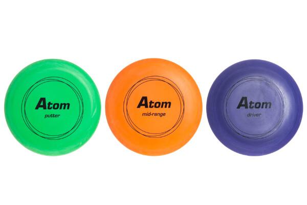 Bilde av Atom - Disc Golf Sett