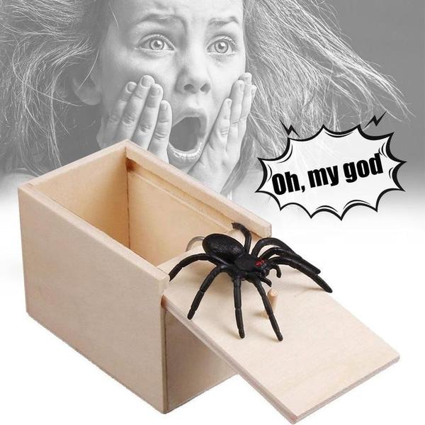 Bilde av Edderkopp Skremmeboks
