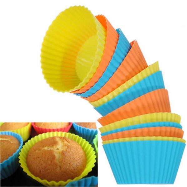 Bilde av 12pk Muffinsformer-Silikon