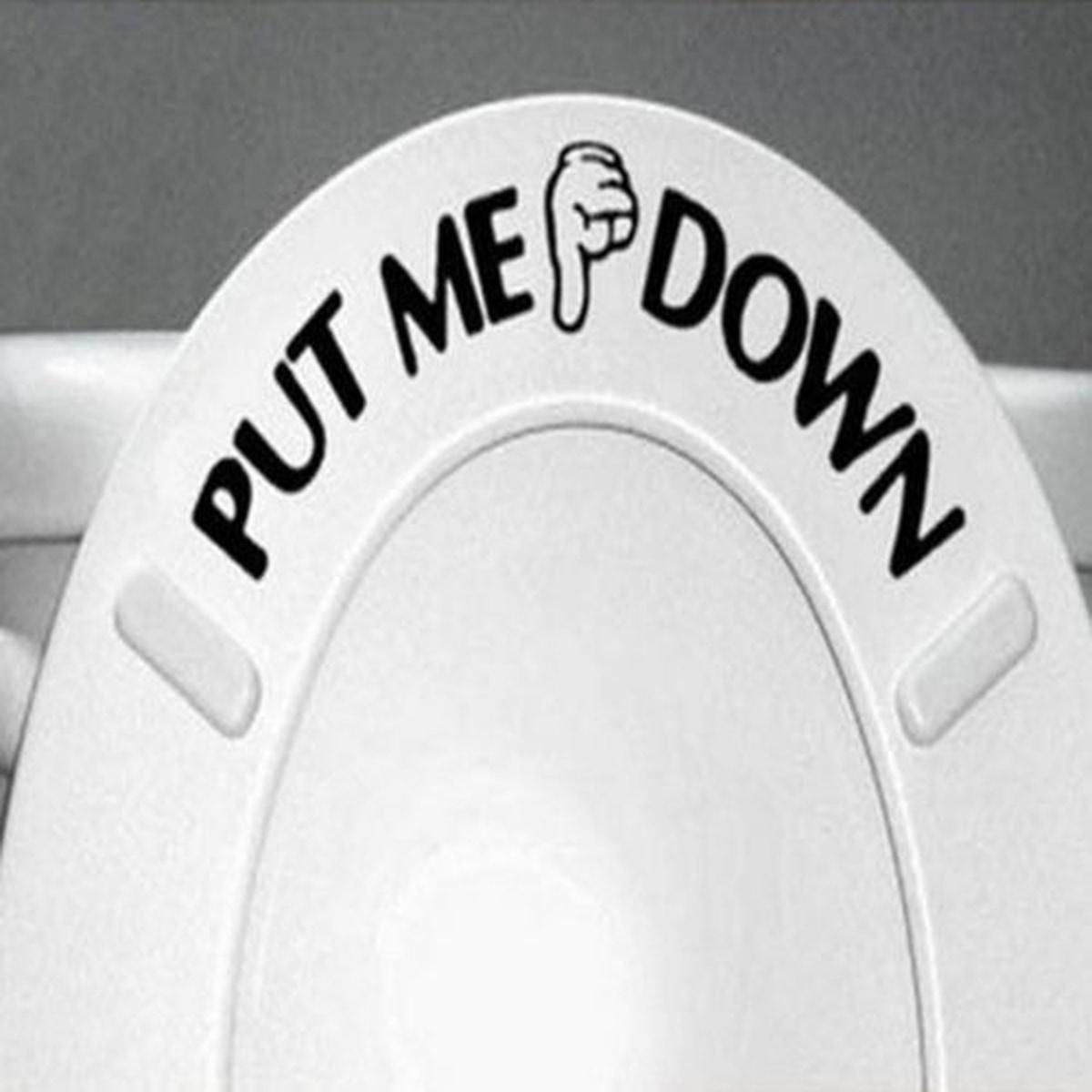 Put me down- Wallsticker