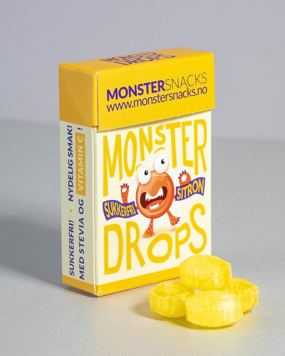 MONSTER Sukkerfrie Drops - Ulike Smaker 36.5g