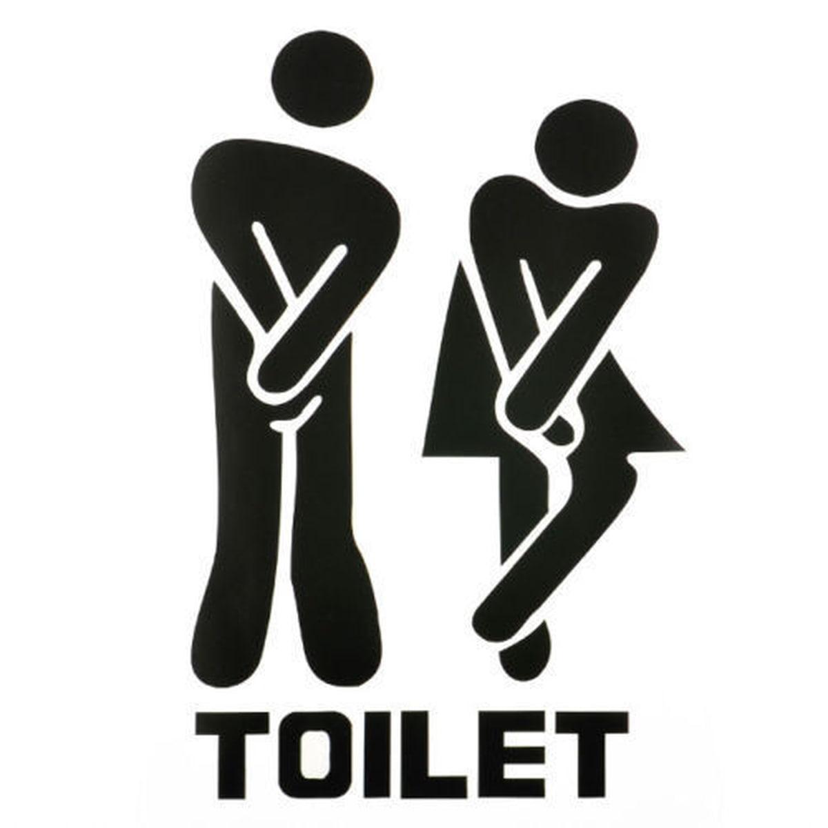 Toilet- Wallsticker