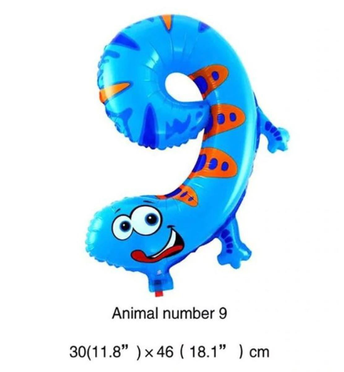 Store Tallballonger Barn 44-55cm