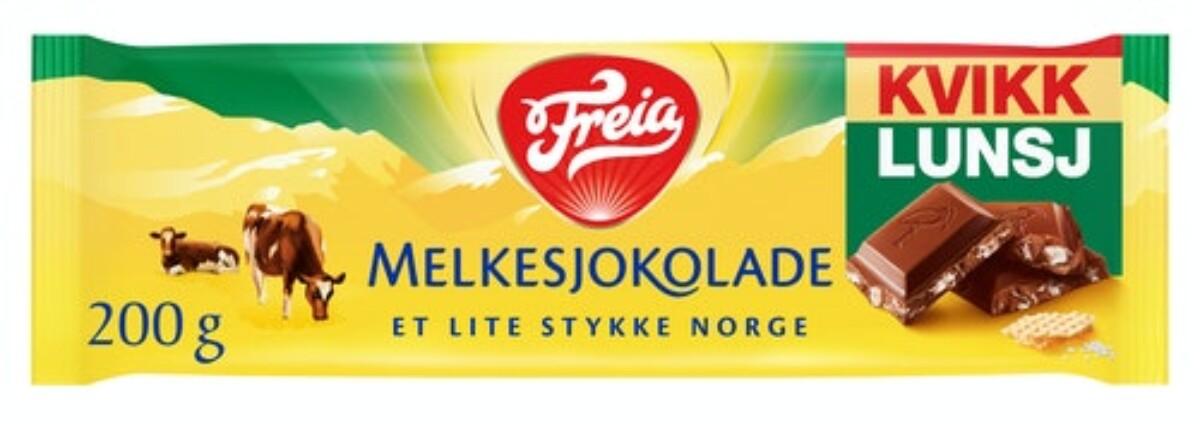 Freia Sjokoladeplater 200g - Ulike smaker