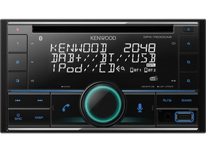 Bilde av Kenwood DPX7200DAB 2DIN CD radio DAB BT