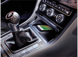 Bilde av inbay integrert Qi ladeplate (10W) VW Golf (2013