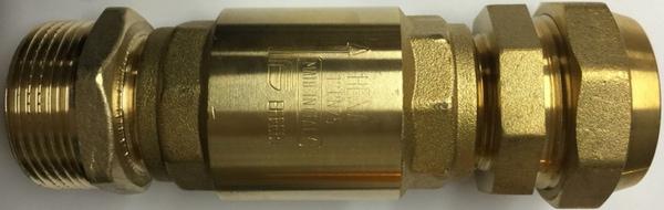 Bilde av Pumpetilkobling med tilbakeslagsventil EBC tynnvegget