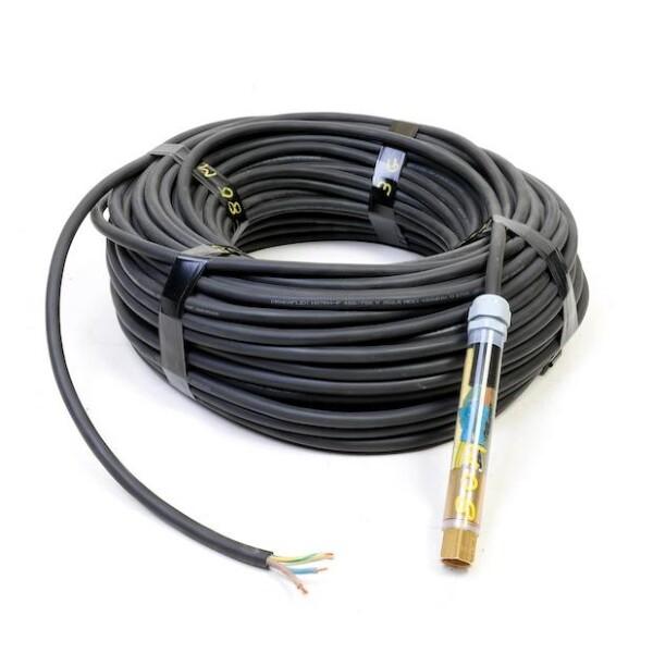 Bilde av EL-Kabel 70m - 1 fas sort