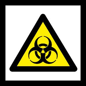 Bilde av Biologisk fare - Biohazard fareskilt