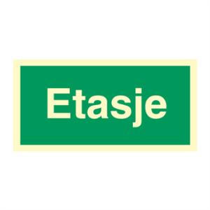 Bilde av Etasjeskilt for rømningsveier