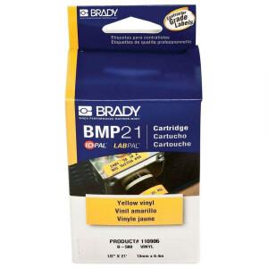 Bilde av Etikett kasett til Brady BMP 21-Plus etikett printer - Gul
