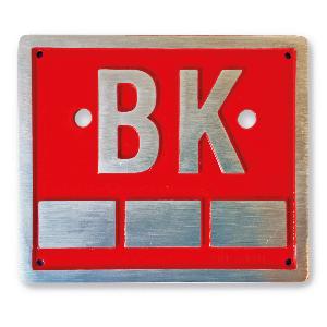 Bilde av Kumskilt for merking av Brannkum 120 x 140 mm