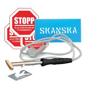 Bilde av Pakketilbud for tyverimerking av verktøy og utstyr