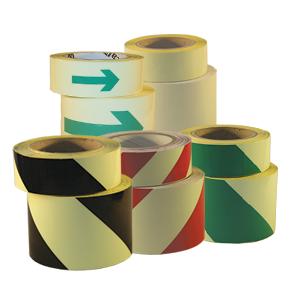Bilde av Etterlysende tape for hindermarkering 40 mm x 10 m
