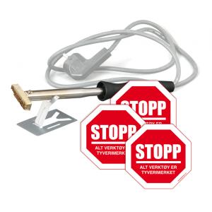 Bilde av Brennstempel 60W for tyverimerking av verktøy