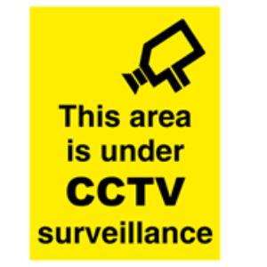 Bilde av CCTV surveillance  400 x 300 mm