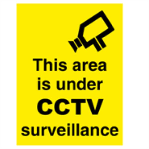 CCTV surveillance  400 x 300 mm