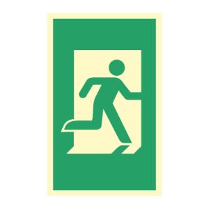 Bilde av Nødutgangsskilt - Dørhåndtaksmarkering