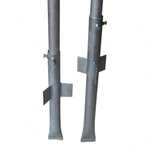 Bilde av Stålfundament for 60 mm skiltstolpe