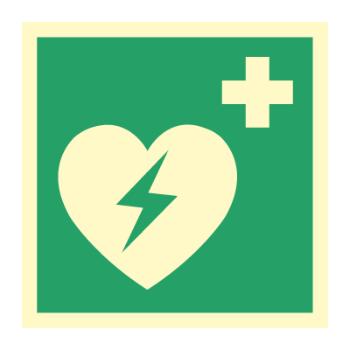 Hjertestarterskilt