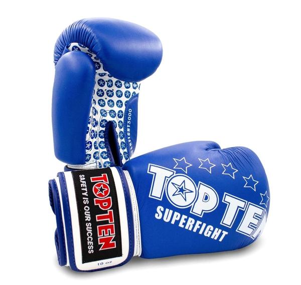 Bilde av TOP TEN New Boksehansker Superfight 3000 - Rød og