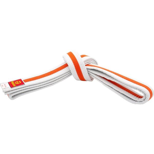 Bilde av HAYASHI Hvitt Belte med oransje stripe