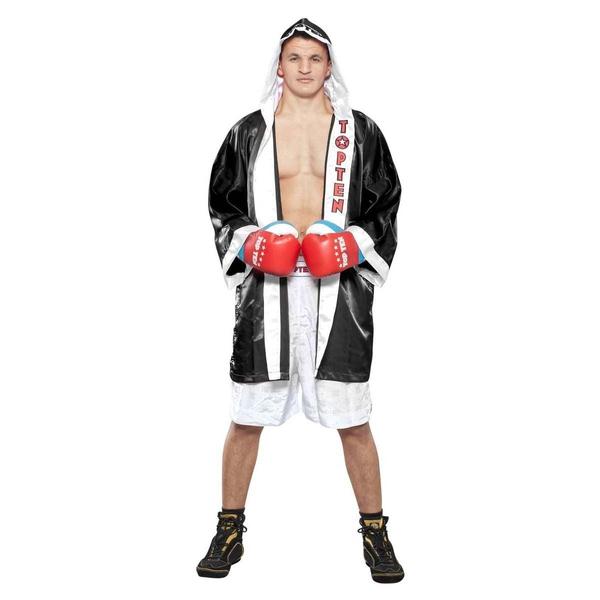 Bilde av TOP TEN Get in the ring Boksekåpe - Svart/Hvit