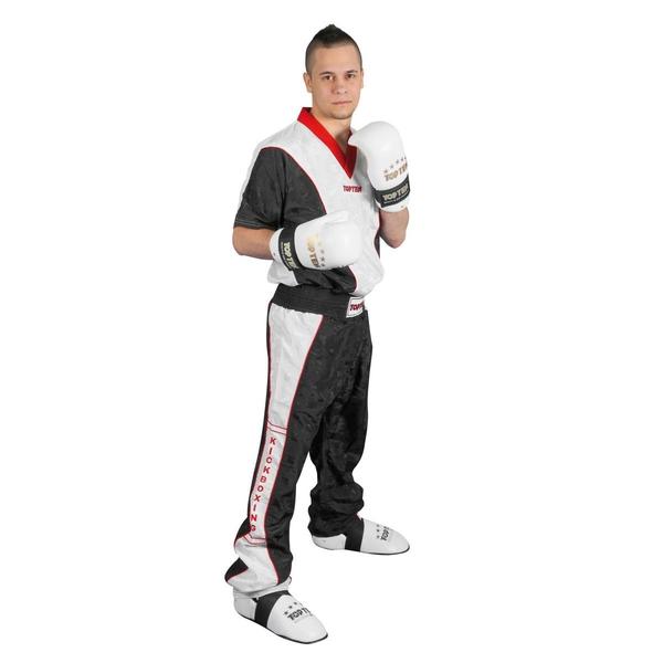Bilde av TOP TEN Power Kickboxingbukse - Svart/Hvit