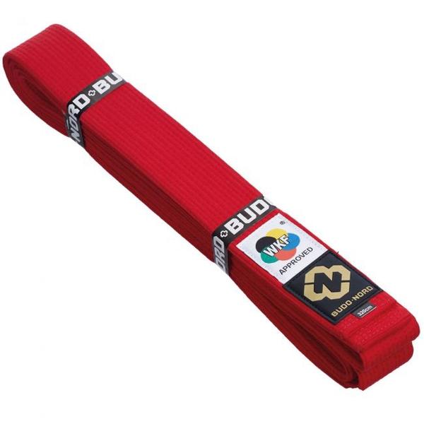 Bilde av BUDO-NORD Japansk kvalitet WKF belte rødt