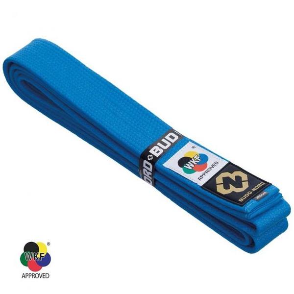 Bilde av BUDO-NORD Japansk kvalitet WKF belte blått